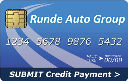 Runde Auto Group Online Payment Option website button