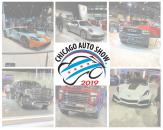 Chicago Auto Show website banner