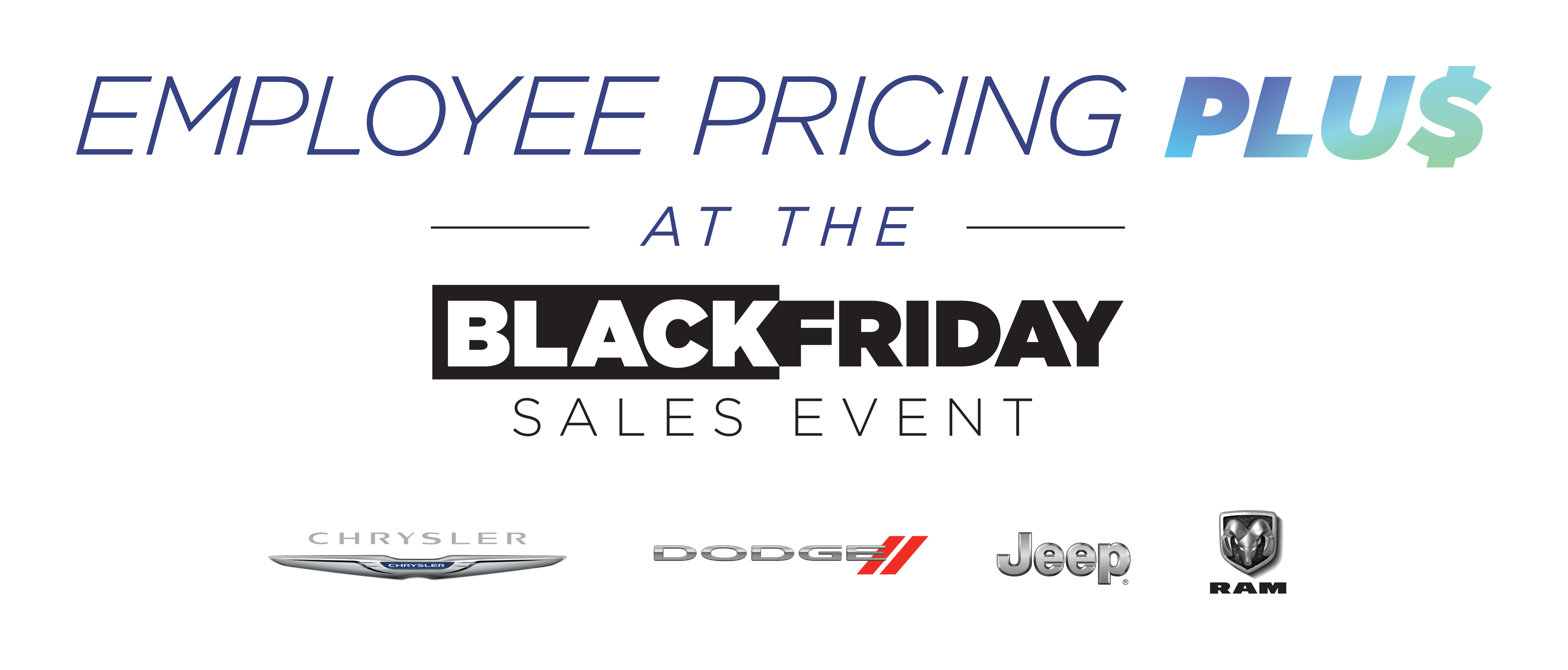 Chrysler Dodge Jeep Black Friday Banner