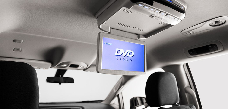 Chrysler Voyager DVD screen